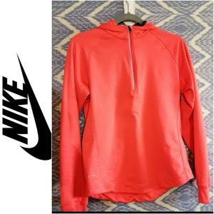 Nike Dri-Fit Hooded Sweater Size Lg